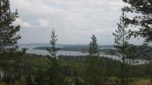 Korkeavaarasta otettu maisema kuva